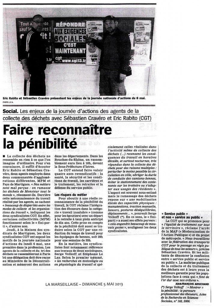 Conférence de presse grève du 6 Mai Filière collecte et traitement des déchets dans collecte / traitement des déchets marseillaise-5-mai