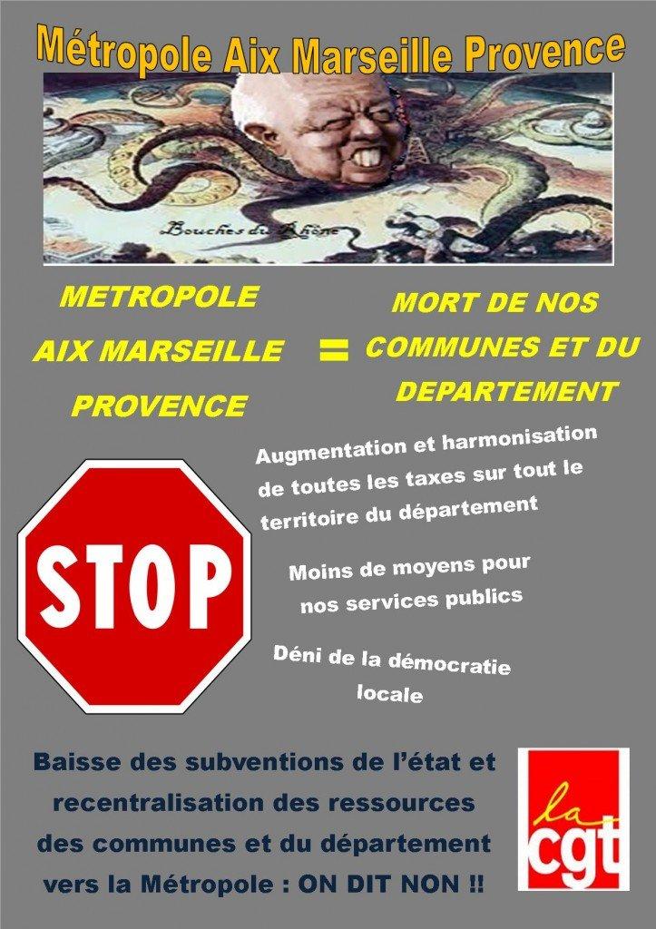 affiche metro gaudin
